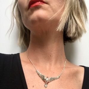 Jewelry - Dove Sterling Silver Necklace
